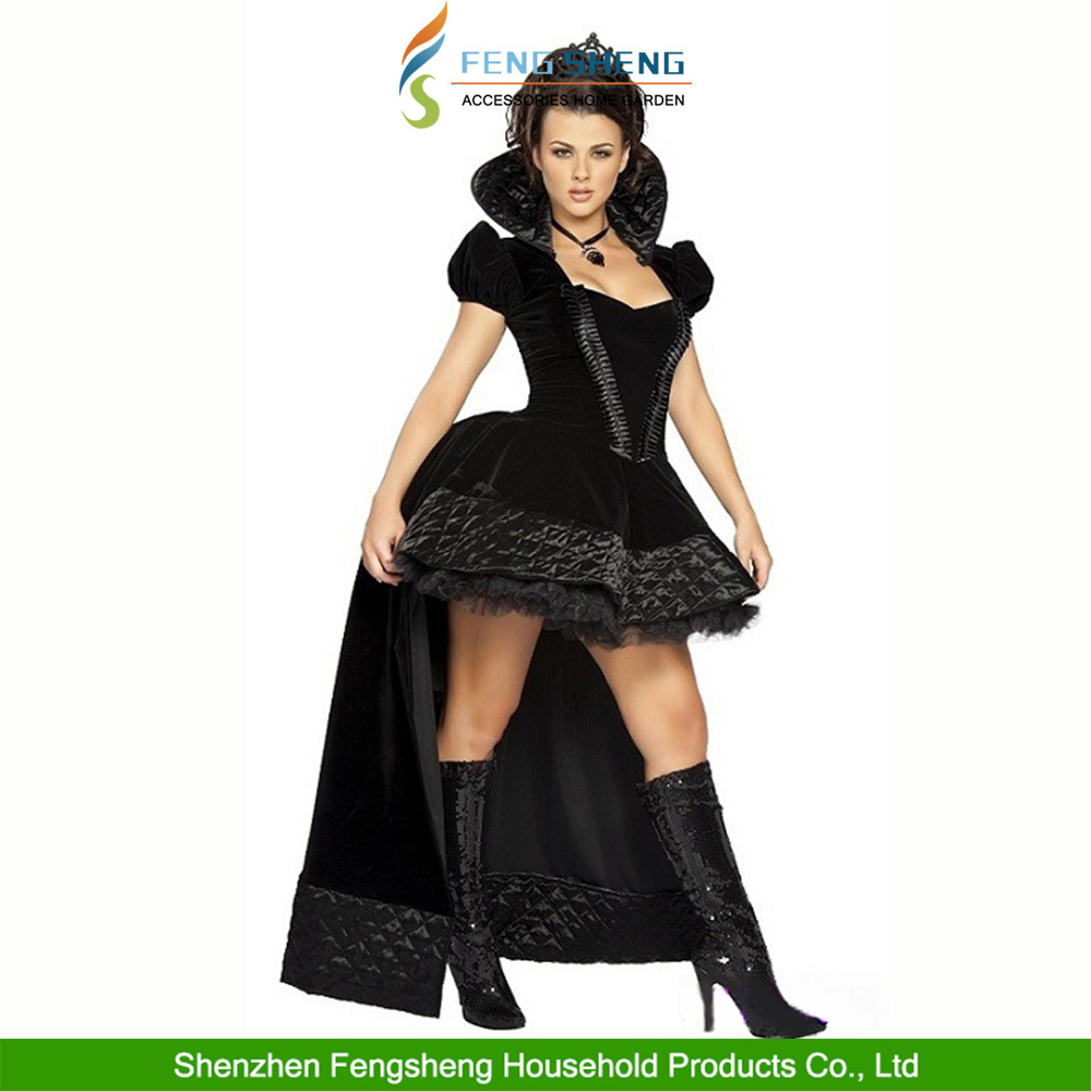 The Queen Of Halloween Uniforms Female Witch Cosplay Dress