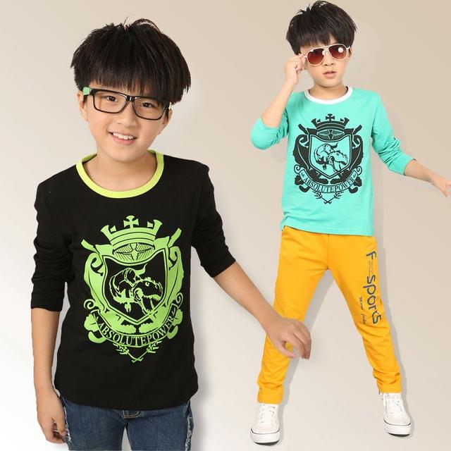 Printed Long Sleeve T-shirt Children wear