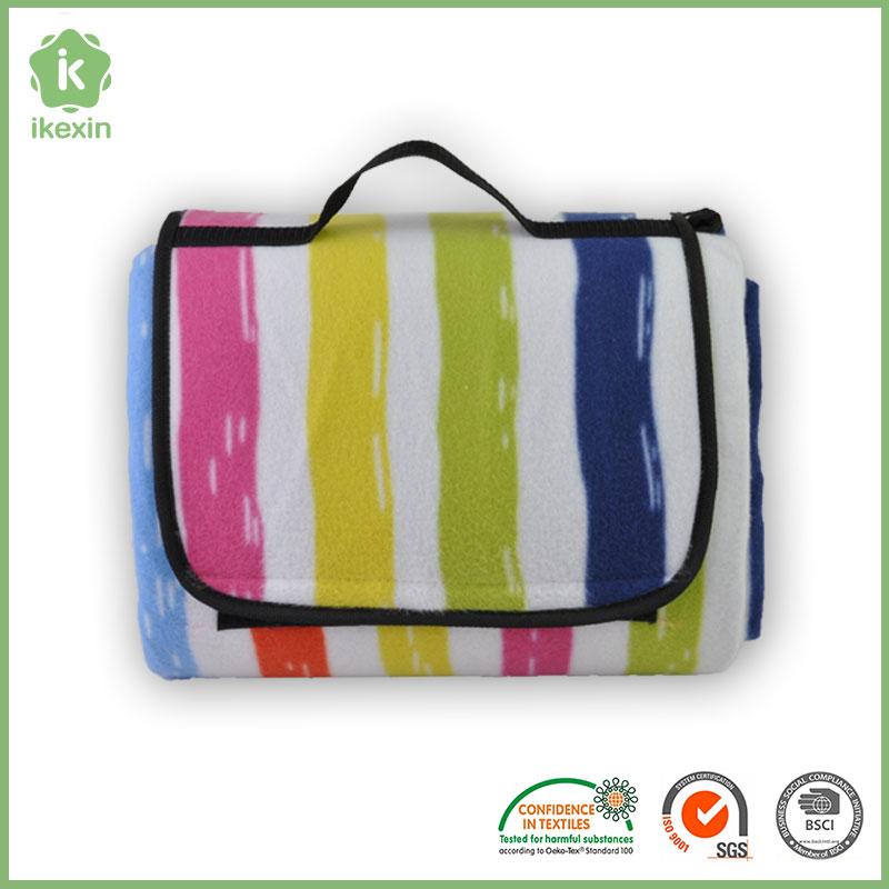 Fashion Beach Travel Fleece Picnic Blanket