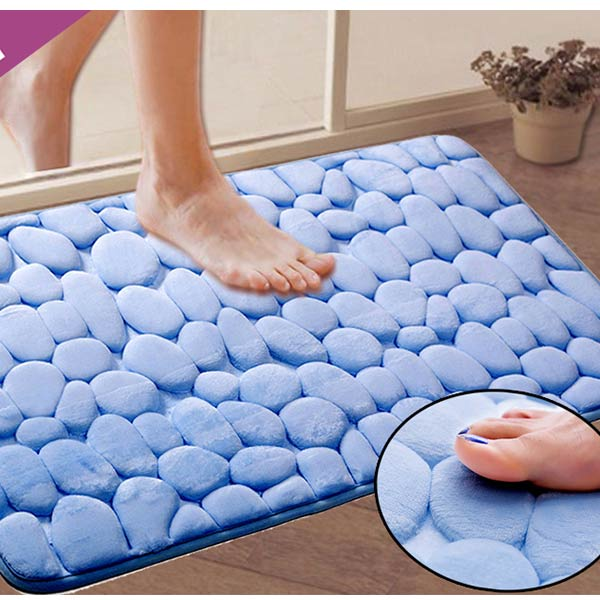 Coral Fleece Bath Mat