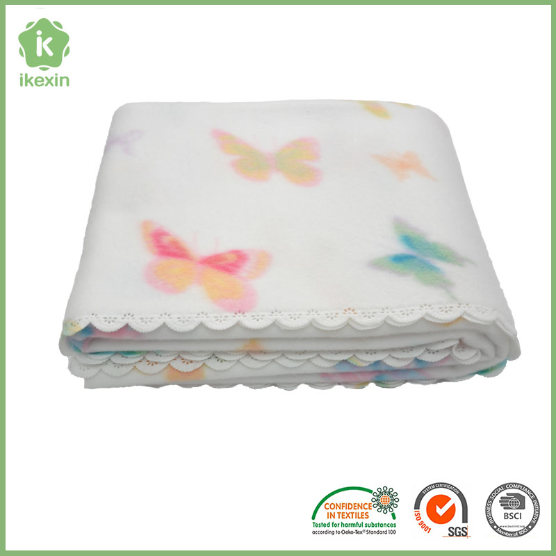 Promotion Gift Soft Coral Fleece Blanket With Many Colors