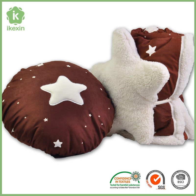 Wholesale Knitting Pillow With Blanket
