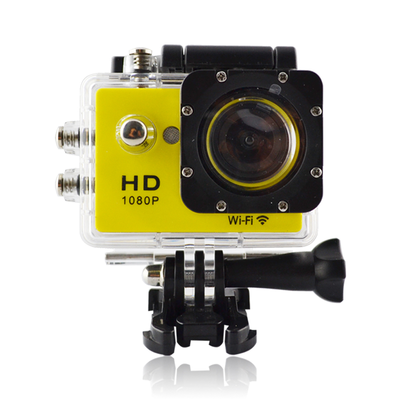 170 degree view angle,1080P action camera with wifi feature for bike