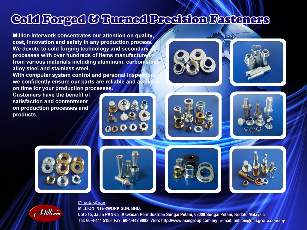 Cold Forging Speaker metal parts made in Malaysia