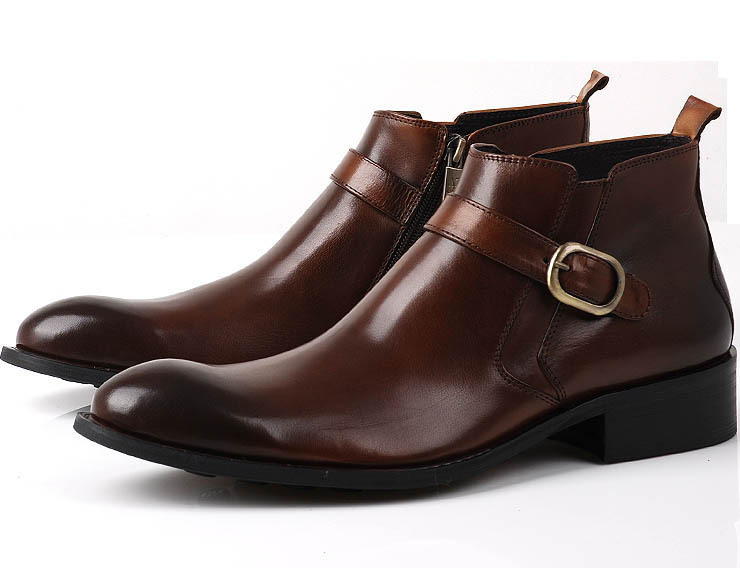 Business casual shoe dress leather men shoes high cost effective shoe