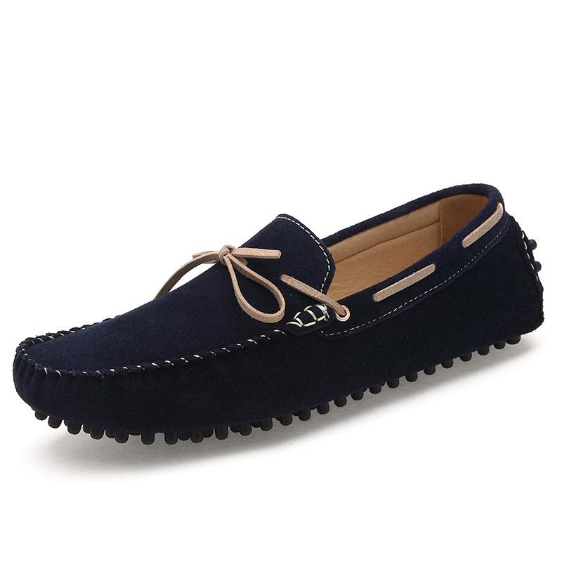 Drivering casual leather shoe low cut fancy men loafer shoes