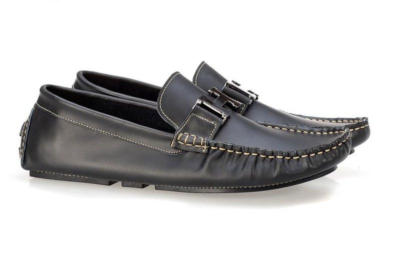 Leisure dress leather shoe casual cowhide men loafer shoes