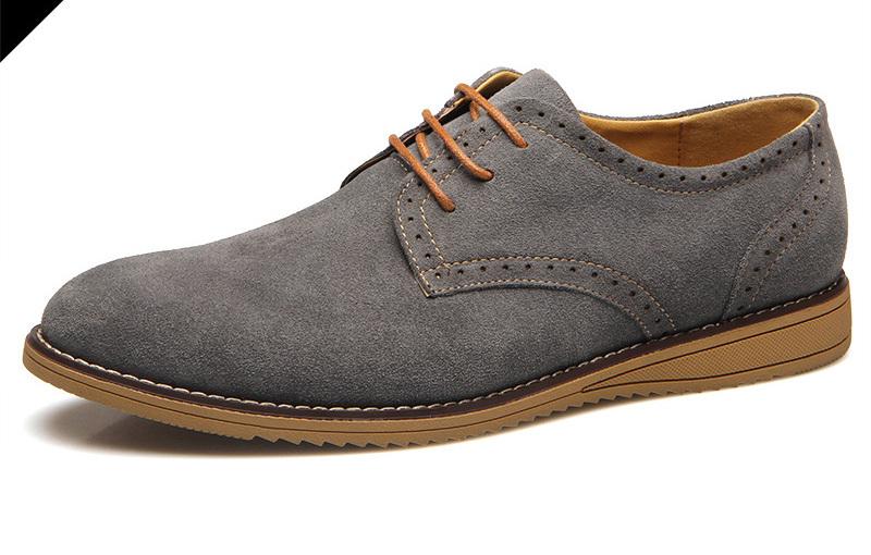 New arrival men casual shoes british bullock running shoes men