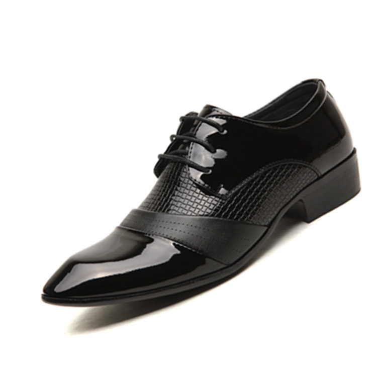 Real leather casual shoe bullock classy men dress shoes