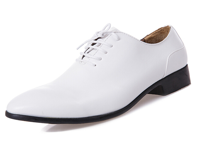 Fahion bullock men leather dress shoes casual men's wedding shoes