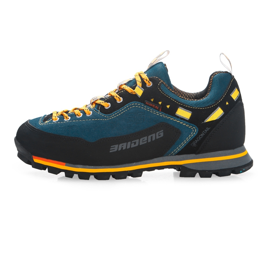 Leather local shoes for men casual sport hiking shoes for men