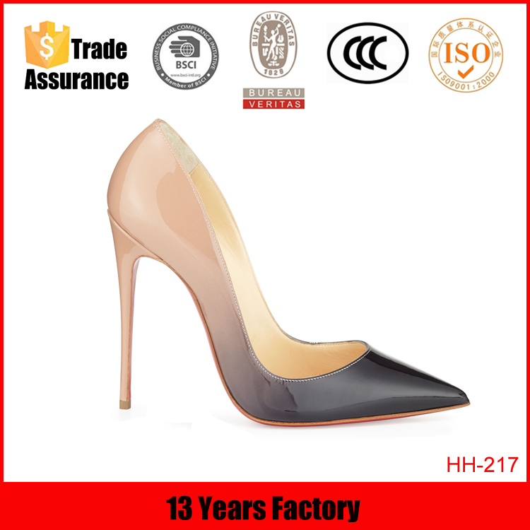 italian latest new design new models wholesale china fancy nice leather office fashion high heel lady shoes 2015