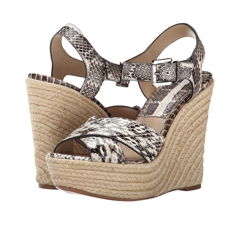 2015 new fashion fancy latest design model summer high heel woman wedge sandals 2015