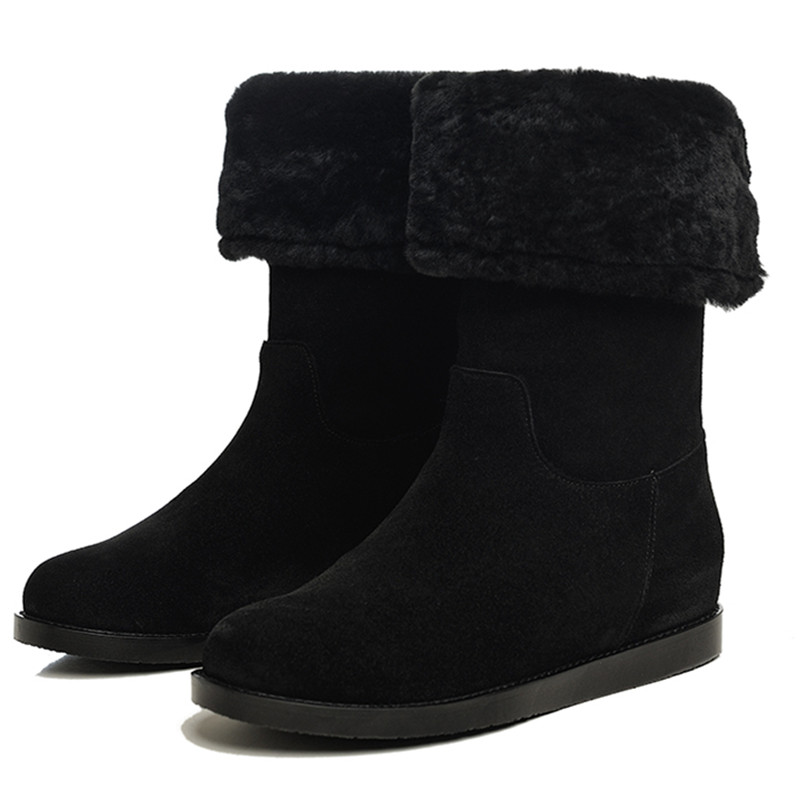 Classic snow boots 2015 Hot sale snow boot Real Sheepskin boot ribbon warm Fashion boot High Quality