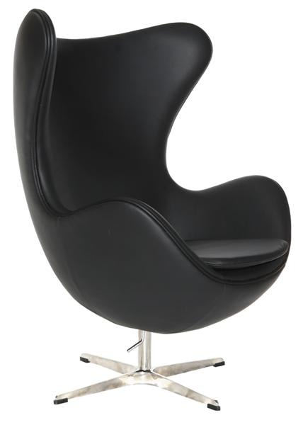 Wholsesale Dining Furniture High Back Black Soft PU American Diner Chair