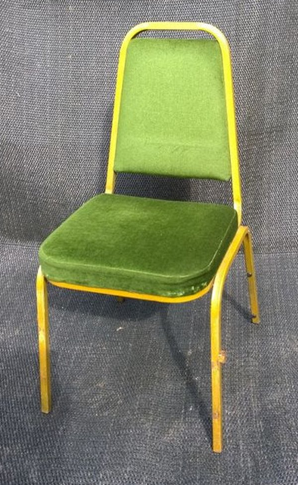 good price high quality used banquet metal chairs