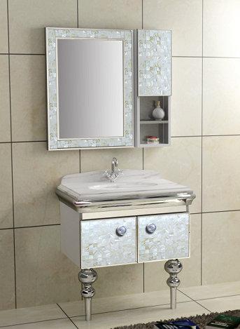 Fashionable bathroom vanity base cabinet
