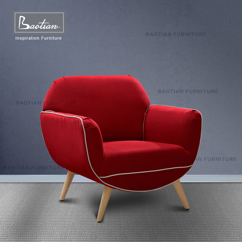 Living Room Chair Sex Chair Red