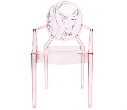 Ghost Cafe Chair