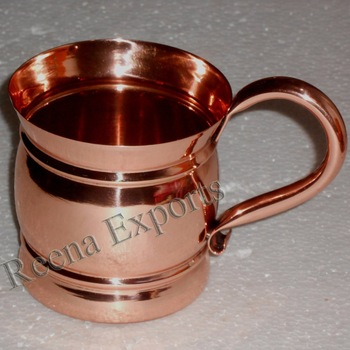 Copper Moscow Mule Mugs for Vodka
