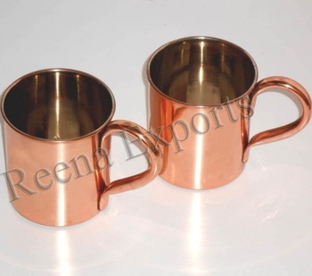 stainless steel travel mug moscow mule cocktail copper mugs