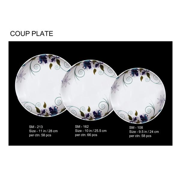 Coup Plate Set