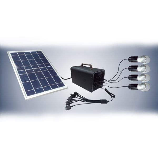 Portable solar lighting system