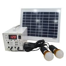 10W Solar Power Home Lighting system