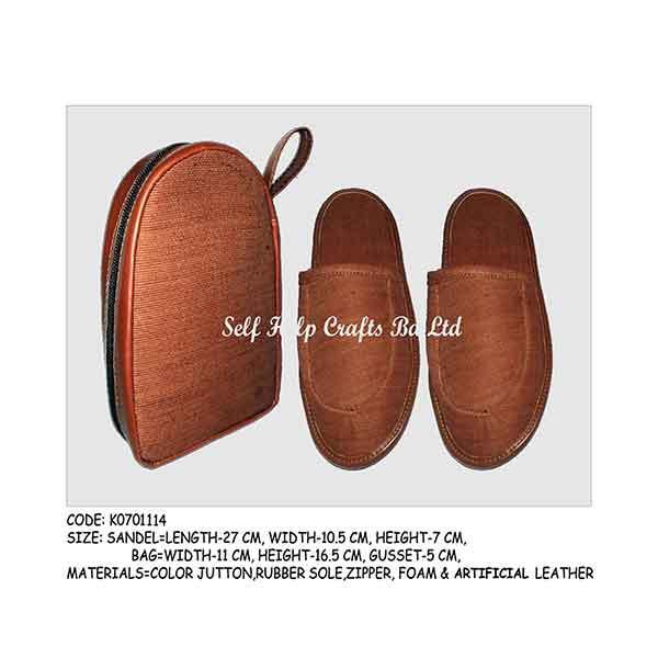 Fiber Craft Sandle 4