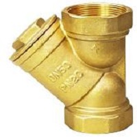 Brass Female Strainer With Plug