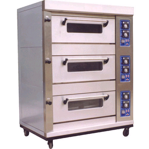 OVEN - GAS PIZZA OVEN 1-DECK WITH DIGITAL PANEL