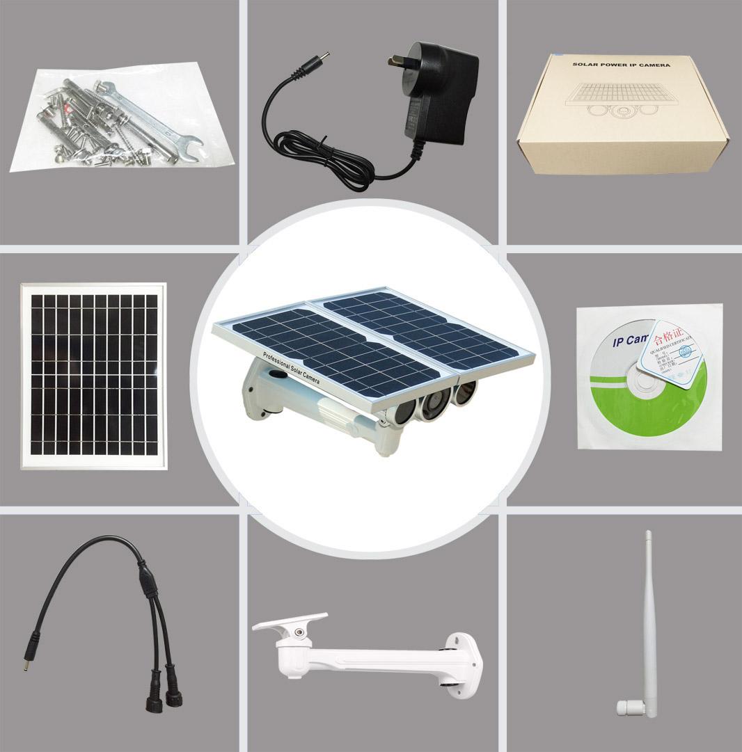 Solar Power IP Camera